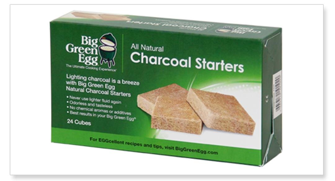 Big Green Egg All Natural Charcoal Starters - 24 cubes AC903