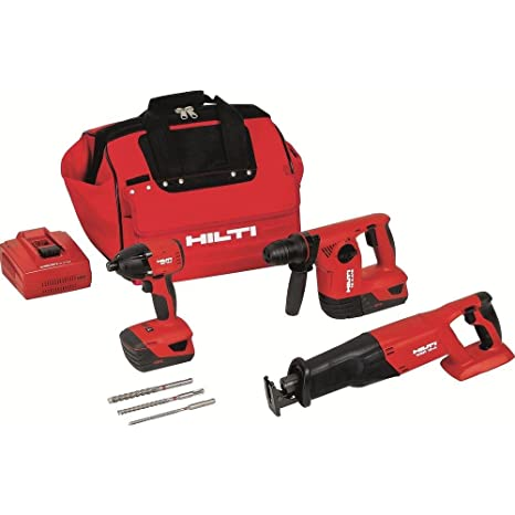 Amazon.com: HILTI 3487022 18-volt iones de litio martillo ...