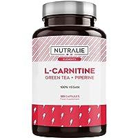 L-Carnitina Pura | Quemagrasas Potente Vegano para Perder Peso con L Carnitina, Té…