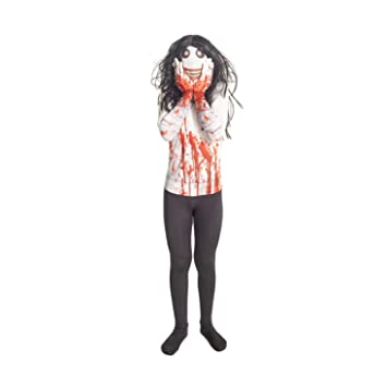 Jeff la Killer Kids Monster Morphsuit Disfraz - Tamaño Grande ...