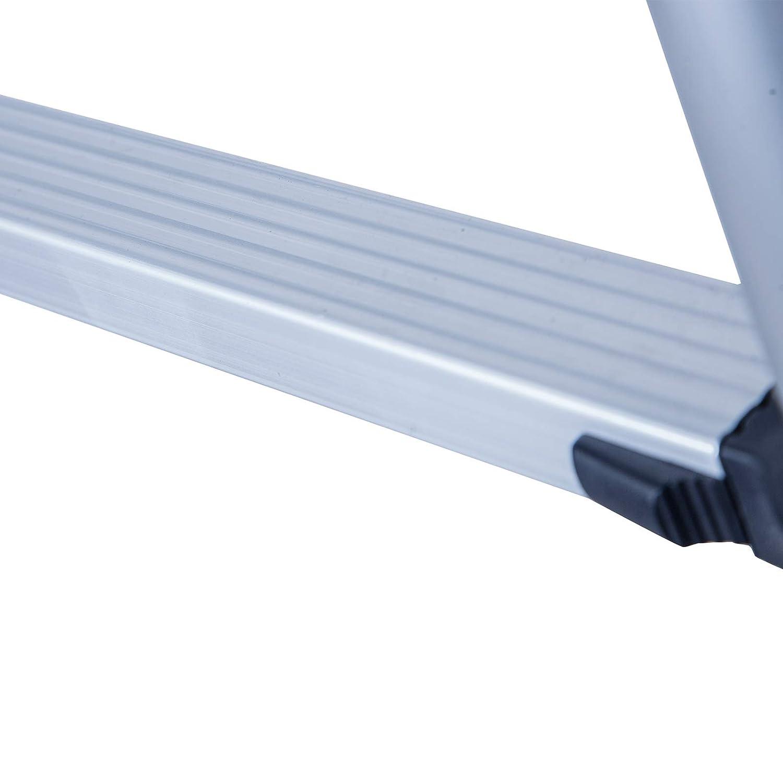 10.5 Foot Unihome EN131 10.5 FT Aluminium Telescopic Ladder Extension Steps
