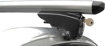 Bb Ep Menabo Einfacher Aluminium Dachträger 90303650 Für Opel Astra Sports Tourer Mit Integrierter Dachreling Bündige Schiene Für U Bügel Montage Oder T Nut Montage Mit 21 Mm Breite Auto
