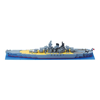 Amazon Nanoblock Technology Nb 004 Battleship Yamato Toys