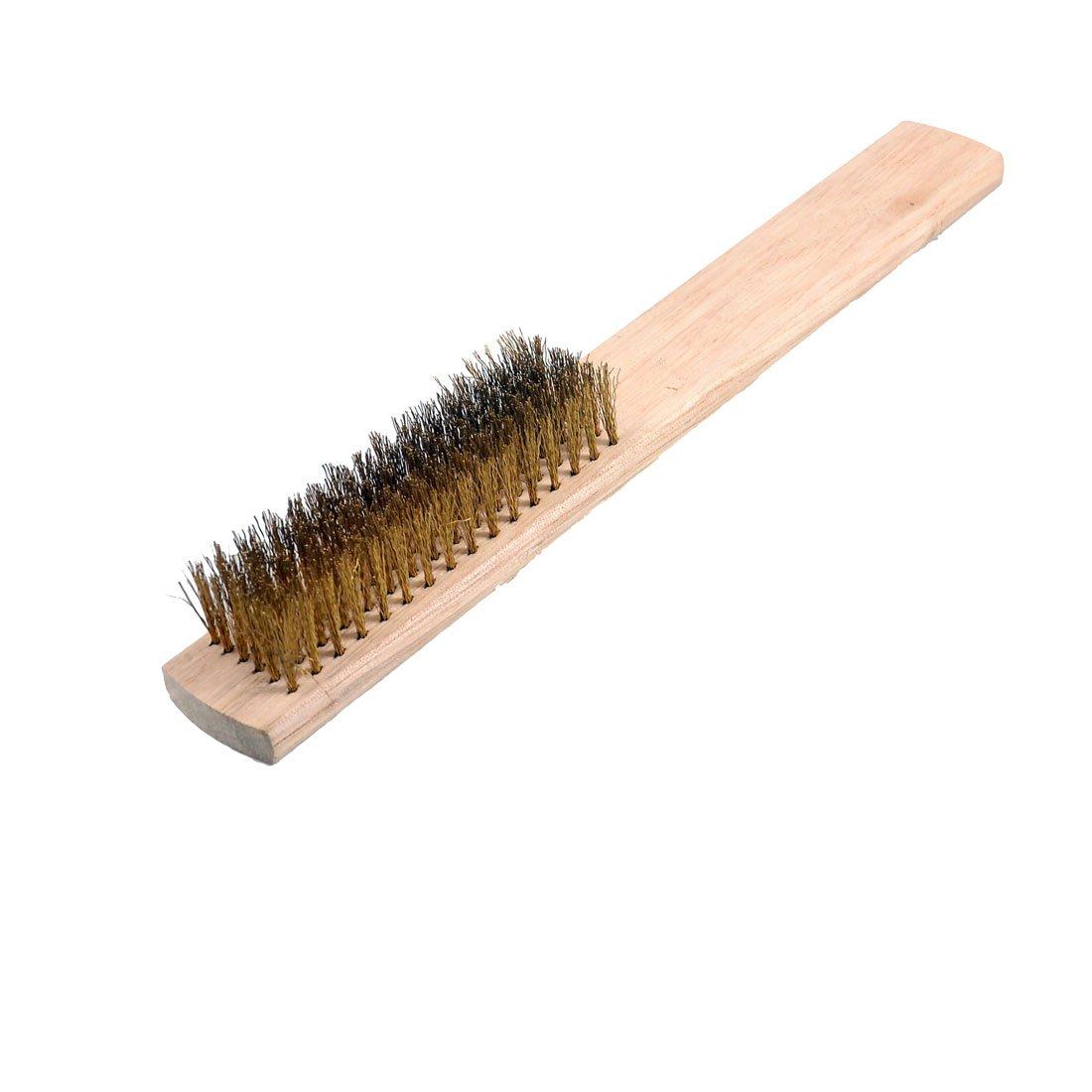 20,3/cm L/änge 6/Reihen Messing eingezogen Holz Griff Draht Scratch Pinsel