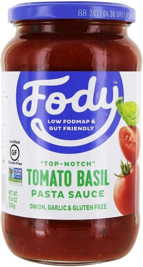 Best Jarred Spaghetti Sauce 2021 Amazon.com: FODY   Low FODMAP Gut Friendly Pasta Sauce Marinara