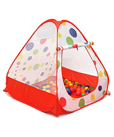 iCorer Young Kids Tents/Pop Up Play Tent Portable Folding Twist Indoor and Outdoor  sc 1 st  Amazon.com & Amazon.com: iCorer Young Kids Tents/Pop Up Play Tent Portable ...