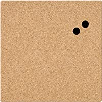 Board Dudes 17 x 17 Unframed Magnetic Canvas Cork Board (CYF06)