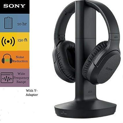 Sony rf995rk auricular y cable bundle – inalámbrico RF Auriculares Función 150-Foot gama,