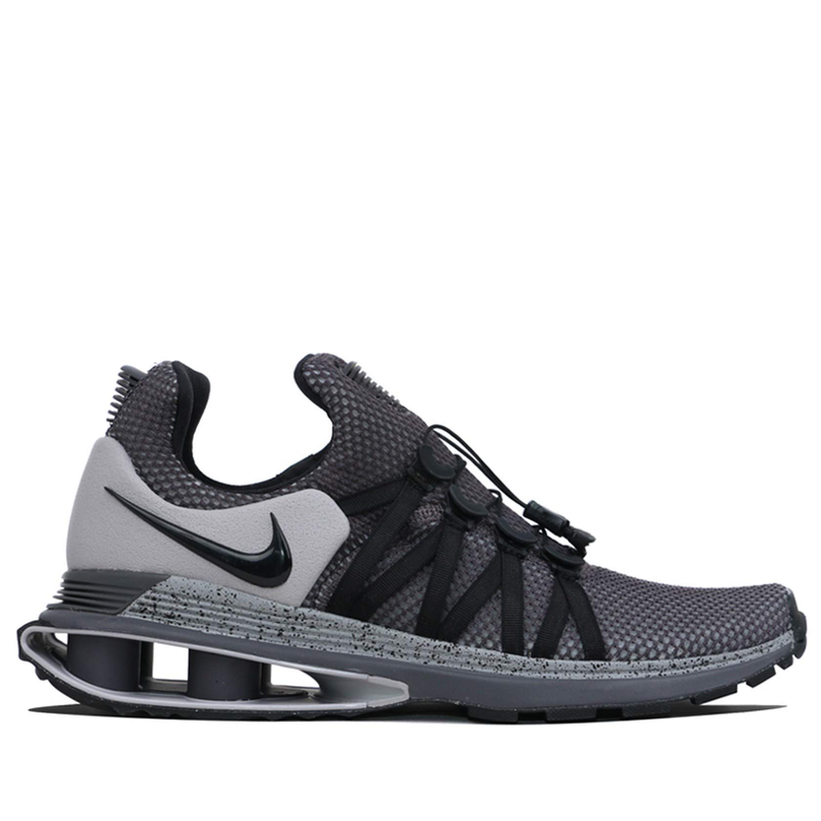 Galleon - Nike Men s Shox Gravity Running Shoes Grey Black Size 10 D(M) US d1117d960