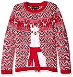 Blizzard Bay Big Boys' Llama Xmas, Red/White, Small