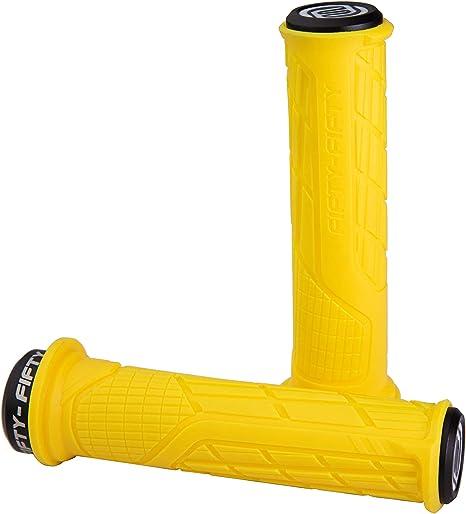 FIFTY-FIFTY - Puños para Bicicleta de montaña, Color Amarillo ...