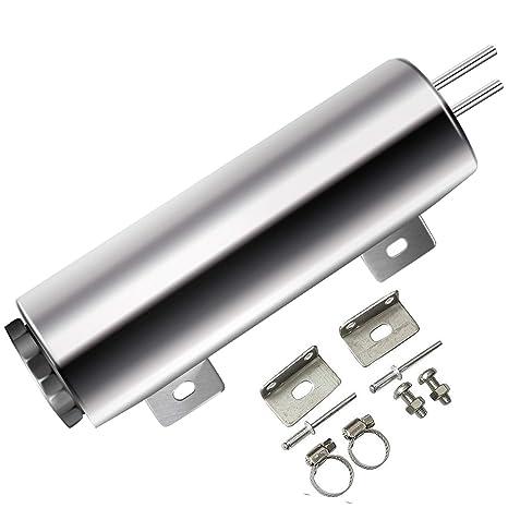 Amazon.com: BLACKHORSE-RACING radiador refrigerante sobre ...