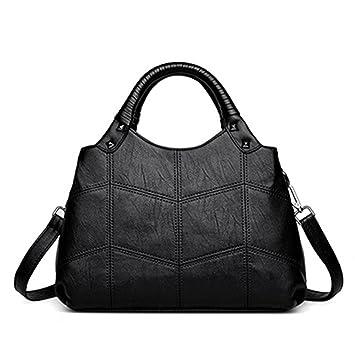 e40554e6c296 Amazon.com: UOXMDNJC Designer Womens Bag Artificial Leather Handbags ...