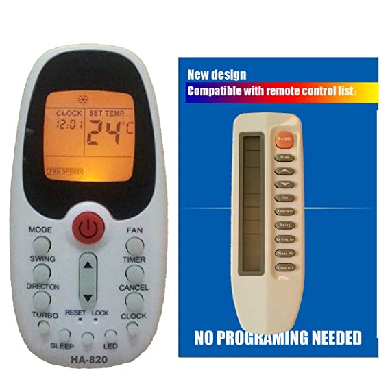 Amazon.com: Replacement Comfort Breeze Slip Unit Air Conditioner Remote Control R71a/e: Home & Kitchen