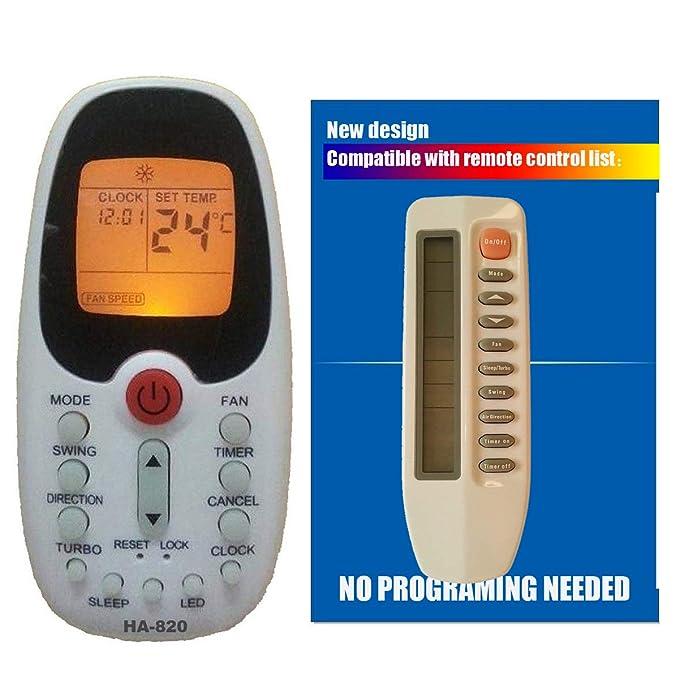 Amazon.com: Replacement Comfort Breeze Slip Unit Air Conditioner Remote Control R71a/e: Home & Kitchen