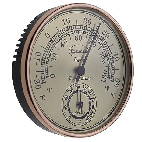 Thermomètre hygromètre Cadran Doré Serre de jardin Bureau à domicile ...
