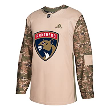 check out 20d88 4d5d9 Amazon.com: Adidas Men's Florida Panthers Camo Veterans Day ...