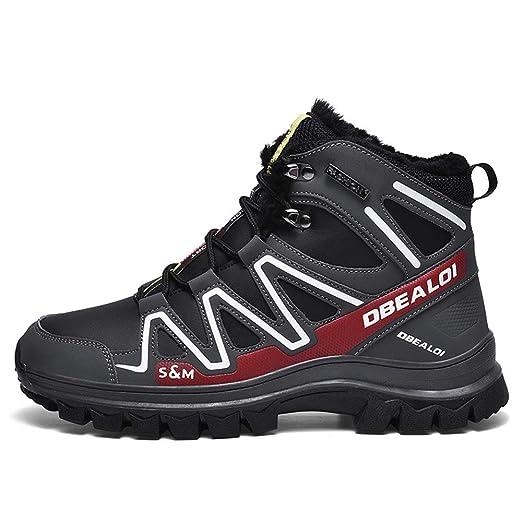 Zapatillas de ciclismo para hombres, Botas de bicicleta de montaña ...