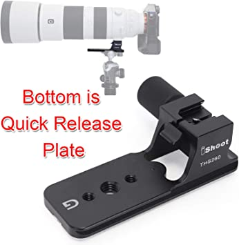 Long Lens Large Format Camera clamp Base w//arca Swiss Style Quick Release Plate
