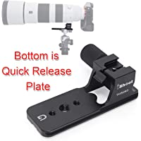 Haoge LMR-OM415 Lens Collar Replacement Foot Tripod Mount Ring for Olympus M.ZUIKO DIGITAL ED 40-150mm F2.8 PRO Lens built-in Arca Swiss Compatible Quick Release Plate
