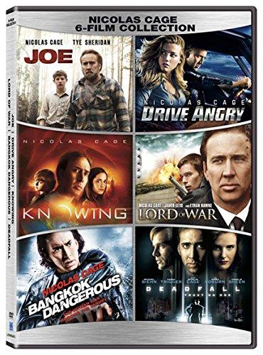 Nicolas Cage 6 Film Collection  Dvd