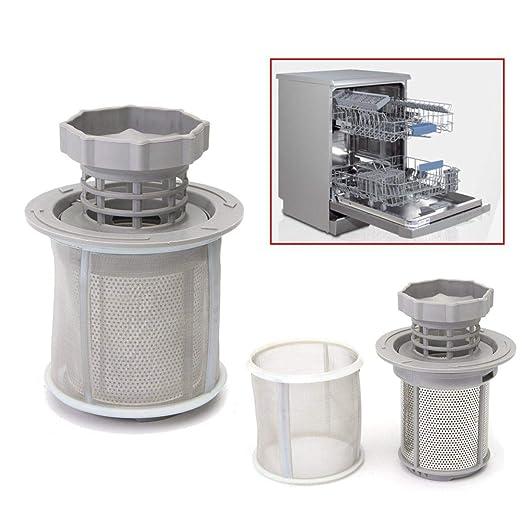 GIlH - Juego de 2 filtros de malla para lavavajillas Bosch ...