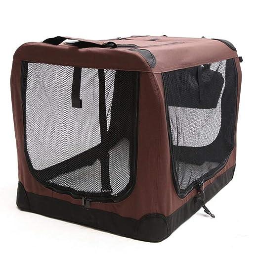 GKKXUE Carro para Perros Car Pet Dog Jaula Transporte para ...