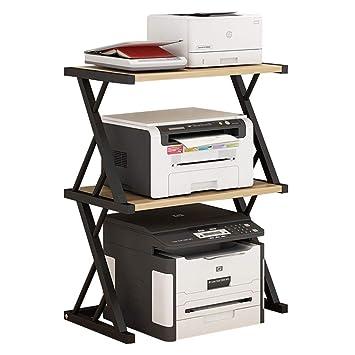 Estante de la impresora Escritorio de la oficina organizador de ...