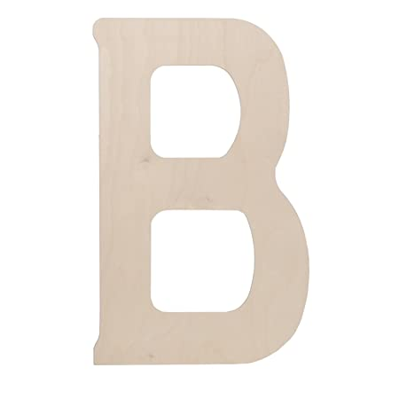 Walnut Hollow Wood Letters 18 Inch B Amazoncouk Kitchen Home