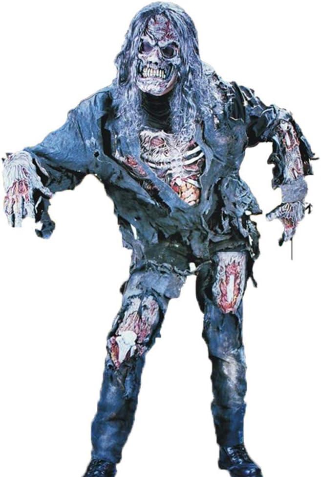 WANLN Disfraz de Zombie Completo para Adultos Disfraces de ...