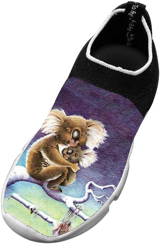 XieZbd Kids Koala Diy Fly Knit Sneaker Shoes