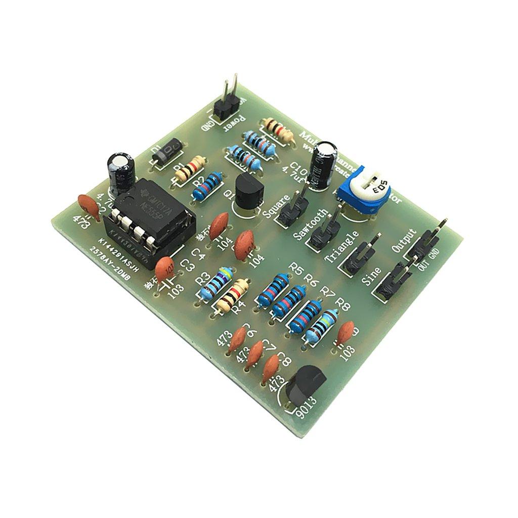 MagiDeal Module de Gé né rateur Forme d'Onde DIY NE555 Waveform Generator Module 51x 44x 5mm