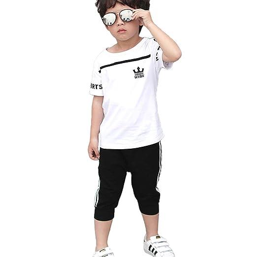 96860fc618166c Amazon.com: NABER Kids Boys' Girls' Fashion Sports T Shirts & Shorts ...