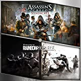 Assassin's Creed Syndicate + Tom Clancy's Rainbow Six Siege - PS4 [Digital Code]