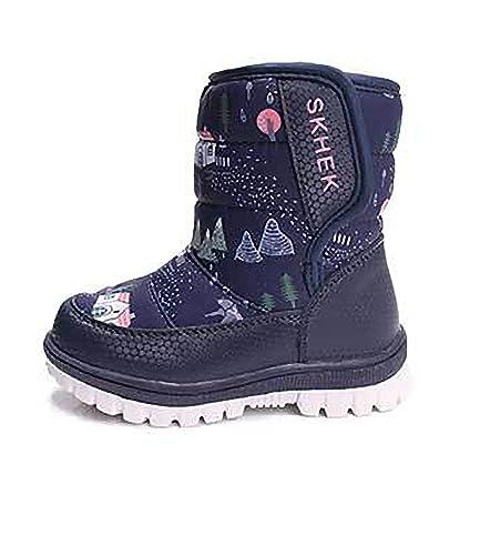 NIGHT-GRING Kinder Schneestiefel Warm gefütterte Winterstiefel Winter  Wasserdichte Winterschuhe Snowboots für Jungen Mädchen  Amazon.de  Schuhe    ... f4fcd96b5c