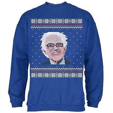 Amazon.com: Election Bernie Sanders Ugly Xmas Sweater Royal Adult ...