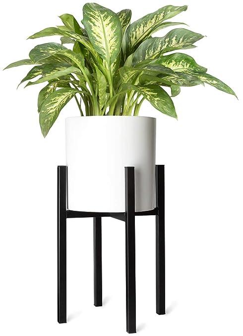 Amazoncom Mkono Plant Stand Mid Century Modern Tall Flower Pot