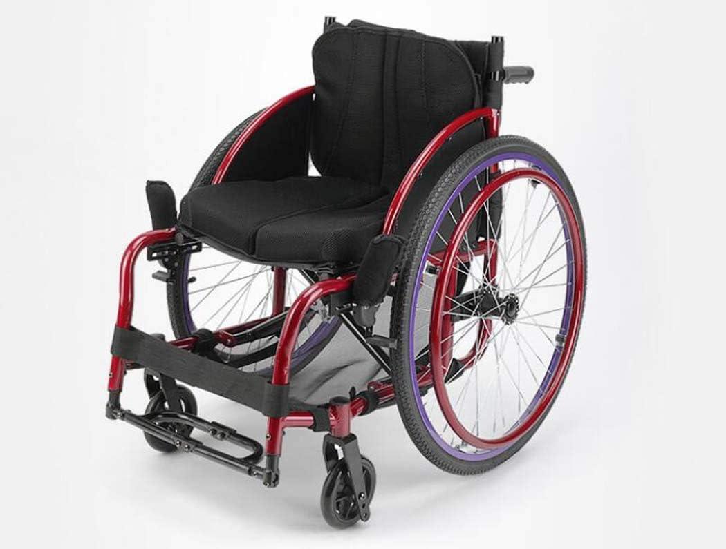 軽量折りたたみポータブルライトトロリー、身体障害者用車椅子、ミニアルミプッシュ車椅子、レジャースポーツ車椅子