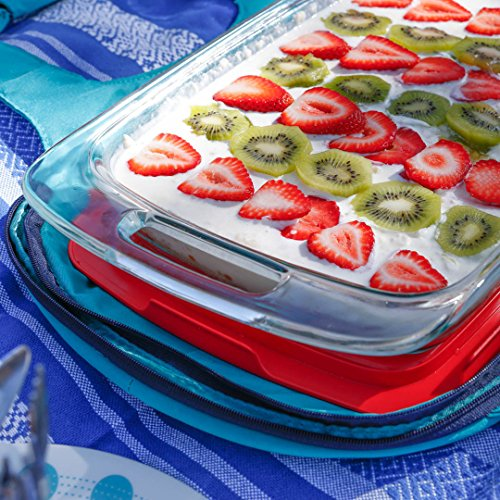 Pyrex Easy Grab 6-Piece Glass Bakeware and Food Storage Set by Pyrex (Image #2)