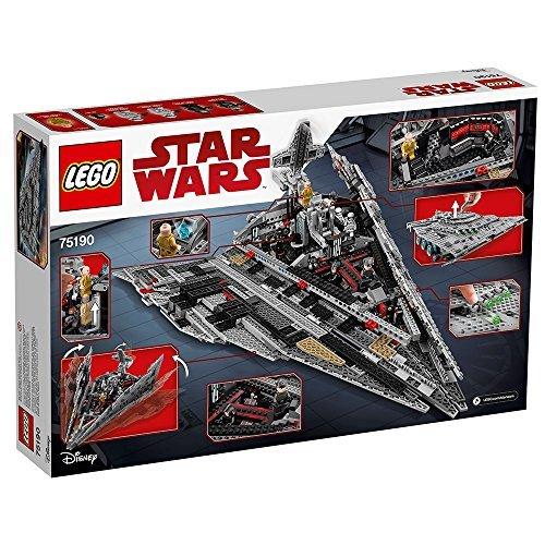 61orghUgdwL - LEGO Star Wars VIII First Order Star Destroyer 75190 Building Kit (1416 Piece)