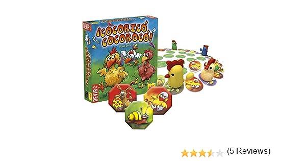 Devir - ¡Cocoricó Cocorocó!, Juego de Mesa (222951): Amazon.es: Juguetes y juegos