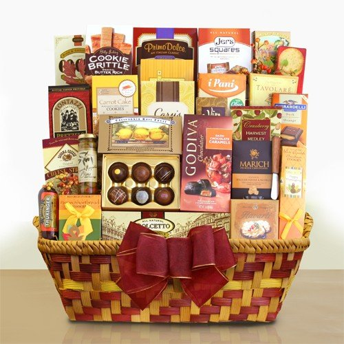 Thanksgiving Gift Basket | Meat, Cheese, Olives, Chocolate, Cookies and More by Gifts to Impress