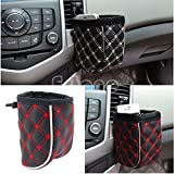 Gold Happy 2018 1PC Car Air Vent Mobile Phone Mesh Holder Pocket Debris Storage Organizer Pouch Bag