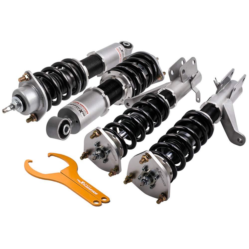 Performance Coilovers for Honda Civic EM2 01-05 Suspension Spring Struts Shock Absorber with Adjustable Damper
