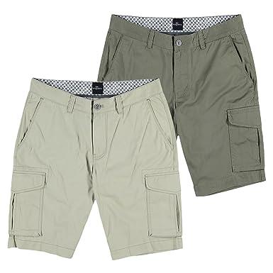 6301d1727e96 engbers Herren Shorts, 25730, Grün  engbers  Amazon.de  Bekleidung