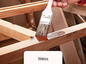 Holzfarbe Seidenmatt Holzlack Bekateq Be 420 Holzschutzfarbe Auf