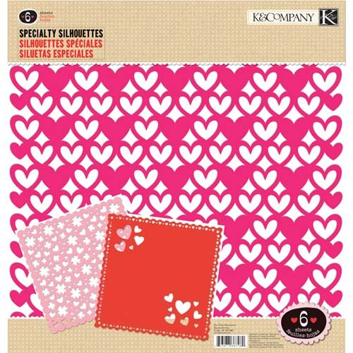K&Company Ka-Zoo Specialty Silhouettes 12x12 Die-Cut Paper Pack