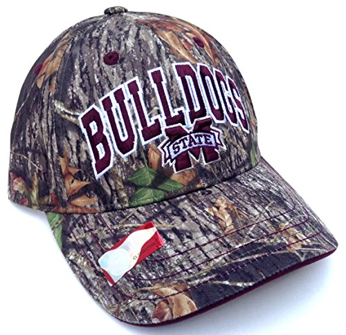 - Mississippi State Bulldogs Solid Mossy Oak Camo Hat