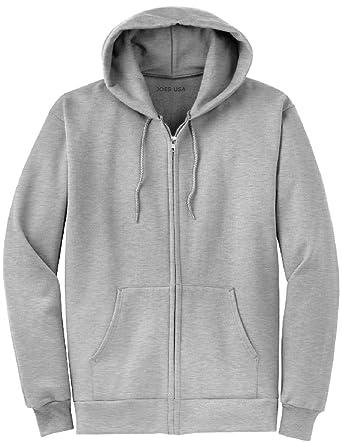 2f5db87b3d15 Joe s USA Full Zipper Hoodies - Hooded Sweatshirts in 28 Colors ...