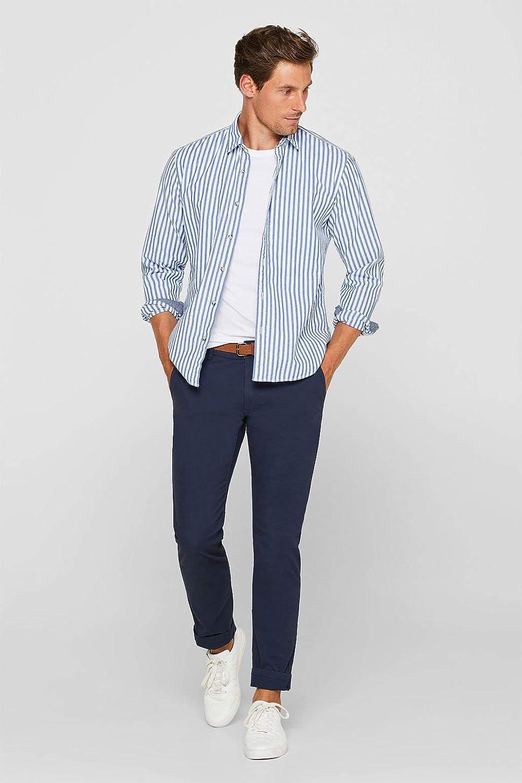 ESPRIT Men's Trouser Blue (Blue 430)